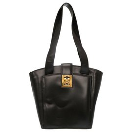 Céline-Celine Tote bag-Black