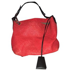 Louis Vuitton-HOBO-Red