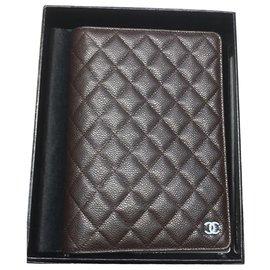 Chanel-Bourses, portefeuilles, cas-Marron