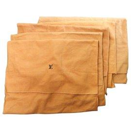 Louis Vuitton-Louis Vuitton Envelope Dust Cover Bag-Brown