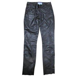 Autre Marque-Un pantalon, leggings-Noir