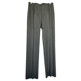 Céline-Pants, leggings-Dark grey