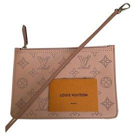 Louis Vuitton-Mahina clutch pink-Pink