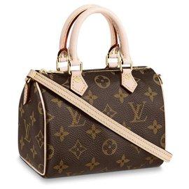 Louis Vuitton-Speedy nano new-Brown