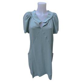 Balenciaga-Dresses-Green