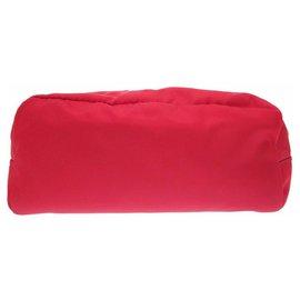 Prada-Prada Nylon Pouch-Red