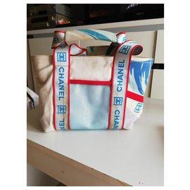 Chanel-Handbags-White,Red,Blue