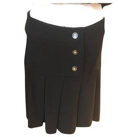 Chanel-Skirts-Black