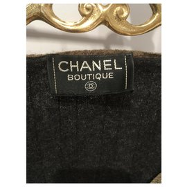 Chanel-Knitwear-Green,Dark grey