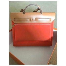 Hermès-Handbags-Orange