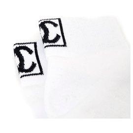 Chanel-WHITE SOCKS P37/38-White