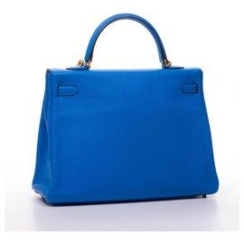 Hermès-Kelly 35-Blue