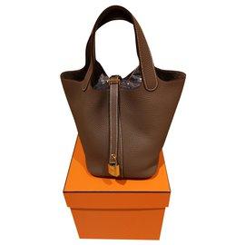 Hermès-Hermès Picotin 18-Taupe