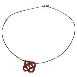 Hermès-Pendentif isatis-Corail