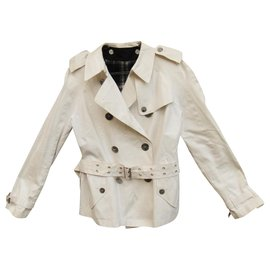 Burberry-Burberry London trench coat 38-White
