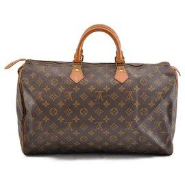 Louis Vuitton-Louis Vuitton Speedy 40-Brown
