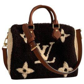 Louis Vuitton-Handbags-Brown,Dark brown