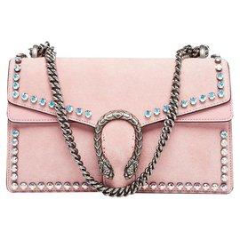 Gucci-Handbags-Pink