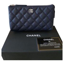 Chanel-Chanel Pochette-Bleu