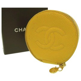 Chanel-Coffret à bijoux Chanel-Jaune