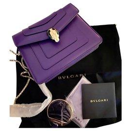 Bulgari-Serpenti Forever Square Small Purple-Lavender