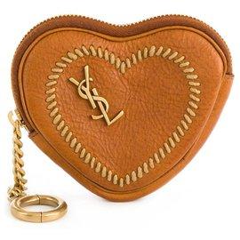 Saint Laurent-Purses, wallets, cases-Brown