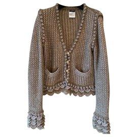 Chanel-Veste en laine Chanel-Gris