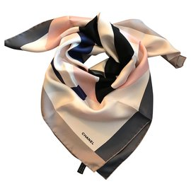Chanel-Chanel scarf-Beige