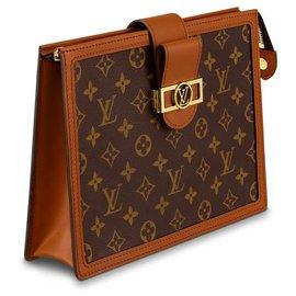 Louis Vuitton-Dauphine Clutch new-Brown
