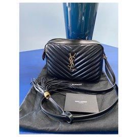 Saint Laurent-saint larent camera bag new-Black
