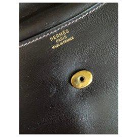 Hermès-Hermès Rio clutch-Brown