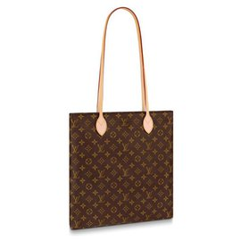Louis Vuitton-Carry It LV new-Brown