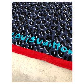 Louis Vuitton-Spotted Louis Vuitton beach towel-Multiple colors