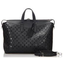 Louis Vuitton-Louis Vuitton Black Monogram Illusion Explorer-Black