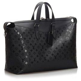 Louis Vuitton-Louis Vuitton Black Monogram Illusion Explorer-Noir
