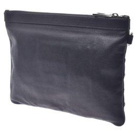 Jimmy Choo-Jimmy Choo Leather Pouch-Black