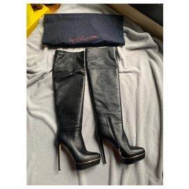 Le Silla-boots-Noir