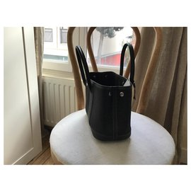 Hermès-mini Garden Party-Black