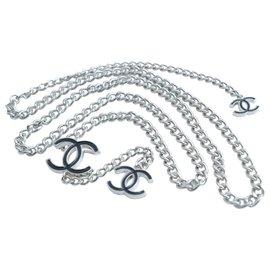 Chanel-Chanel Chain belt-Silvery