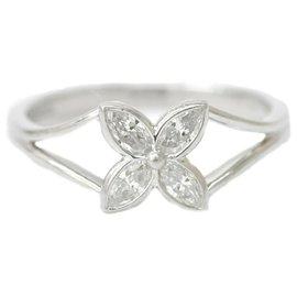 Tiffany & Co-TIFFANY & CO. Diamond Victoria Ring-Silvery
