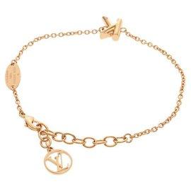 Louis Vuitton-Louis Vuitton BRACELET ALPHABET LV&ME-Golden