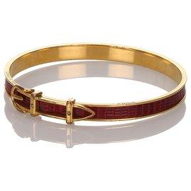 Hermès-Bracelet Boucle Rouge Hermès-Rouge