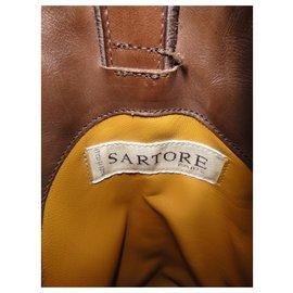 Sartore-bottes gauycho Sartore p 38-Marron foncé