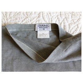 Chanel-Chanel tunic top-Grey