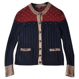 Chanel-2018 Fall cashmere cardigan-Multiple colors