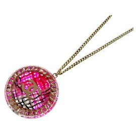 Chanel-Chanel necklace-Pink