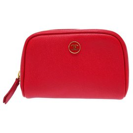 Chanel-Chanel CC Mark-Red