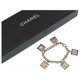 Chanel-Chanel CC Mark Blur Scrapes-Golden