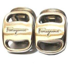 Salvatore Ferragamo-Salvatore Ferragamo Earrings-Silvery