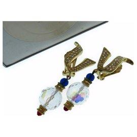 Dior-Dior earrings-Golden